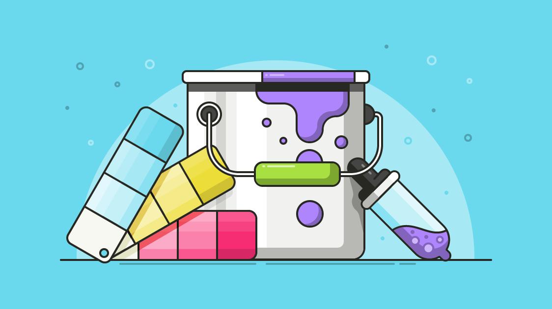 روانشناسی رنگ در طراحی سایت های اختصاصی