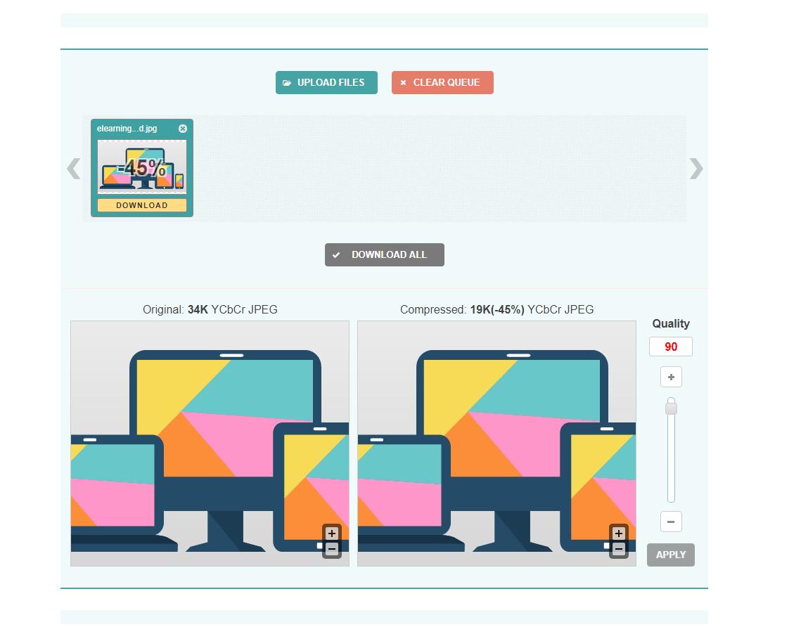 افزایش سرعت طراحی سایت با بهینه سازی و کاهش حجم تصاویر