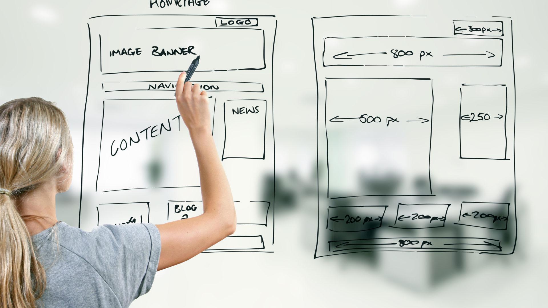 اسکرول های طولانی در طراحی سایت